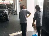 beplay天健之星4S店承包室内保洁